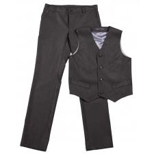 Tumehallid püksid ja vest