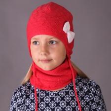 Virsikuroosa müts, 100% meriinovill