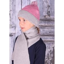 Halli roosa kirju müts, 100% MERIINOVILL