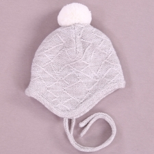 Light Gray Hat, 100% Merino Wool