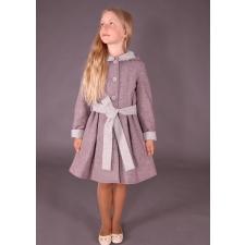 Roosa mantel hallide detailidega