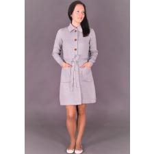 Gray Cardigan, 100% Merino Wool