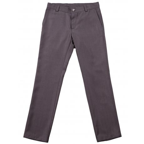 Hallid kerge läike ja triibuga püksid