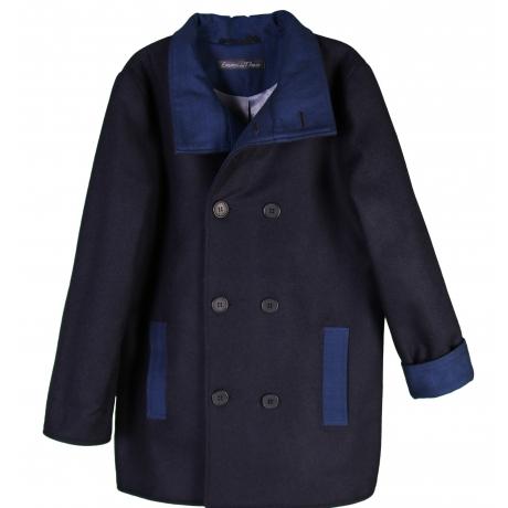Dark Blue Wintercoat