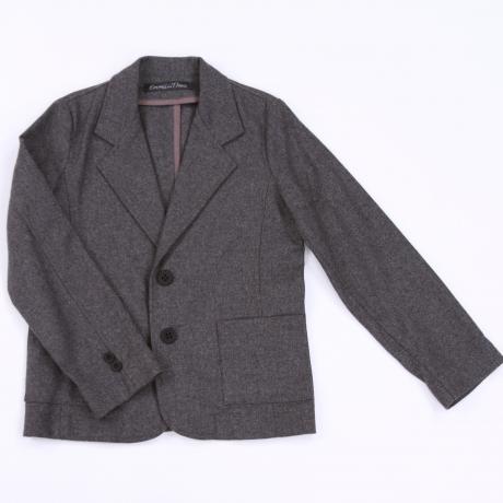 Gray Woolen Jacket