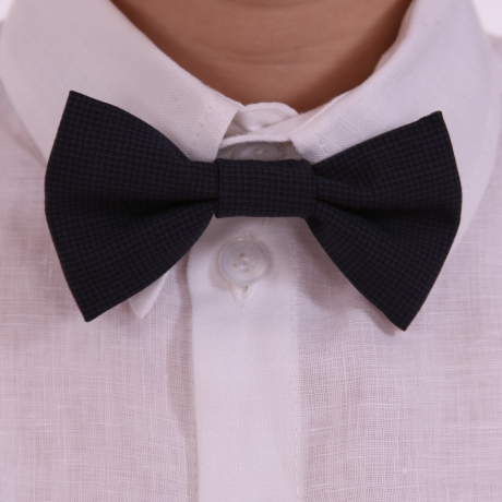 Dark Blue Bow Tie
