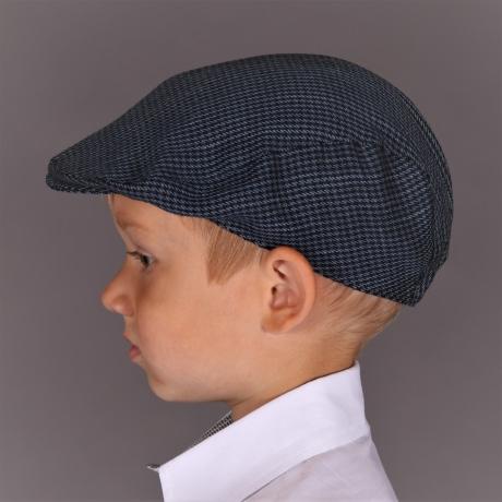 Blue Ivy Cap - Virgin Wool, Linen And Silk