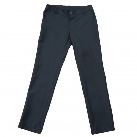 Sinakasmustad püksid peenvillaga