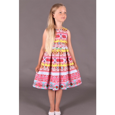 "Dress ""Deer And Roses"""
