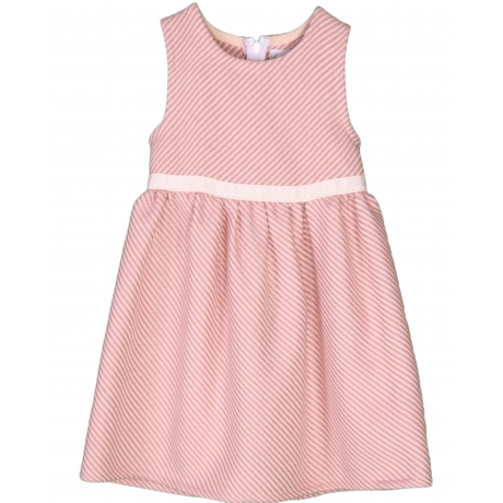 Roosa villane kleit beeži kaunistuspaelaga
