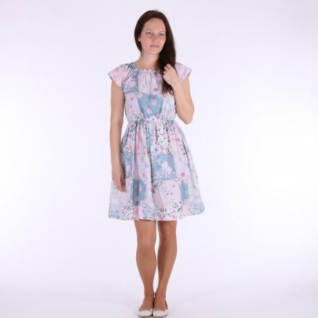 Light Blue Floral Dress