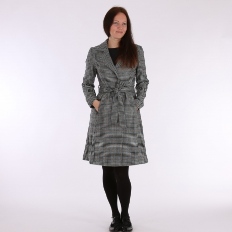 Coat With Virgin Wool and Mohair