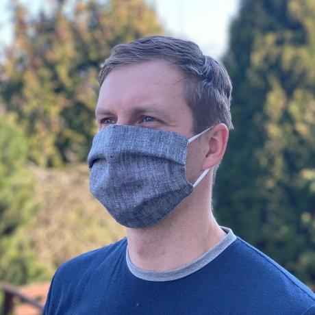 Face Mask 100% LINEN