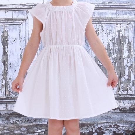 Valge õhuline kleit