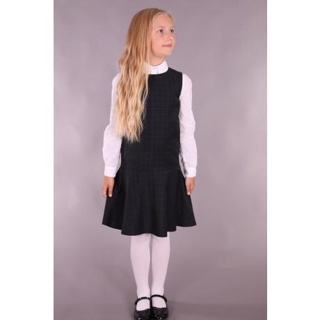 Must ruuduline kleit - 100% peenvill!
