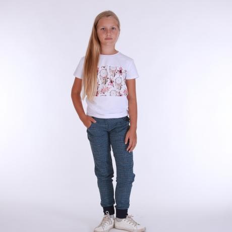 Ruudulised püksid, 100% peenvill