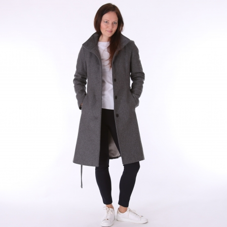 Gray Wintercoat