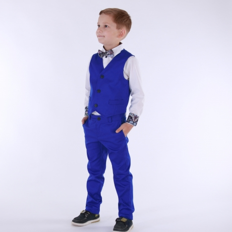 Royal Blue Trousers (Darker)