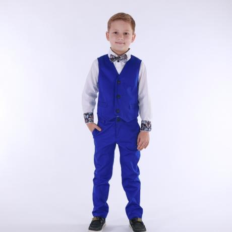 Vest Royal Blue (tumedam)
