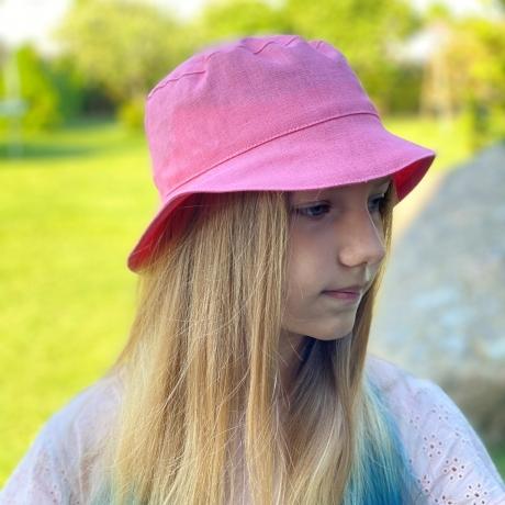 Roosa kübar, 100% linane