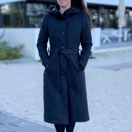 Dark Gray Wintercoat