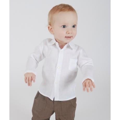 White Shirt, 100% Linen