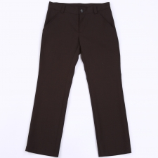 Peenvillaga mustad püksid