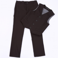 Black Trousers And Vest