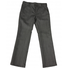 Virgin Wool Gray Trousers