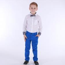 Sinised kerge läikega püksid (Royal Blue)