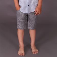 Gray Shorts, 100% Linen