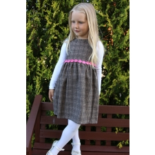 Brown Woolen Dress