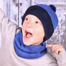 Blue Hat, 100% Merino Wool