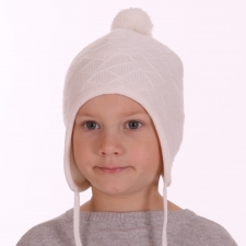 White Hat, 100% Merino Wool