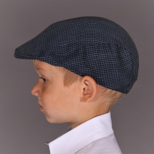 Blue Ivy Cap - Virgin Wool, Linen And Silk