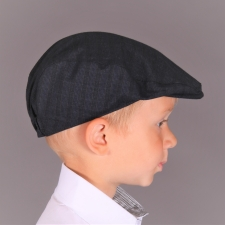 Dark Blue Virgin Wool Ivy Cap