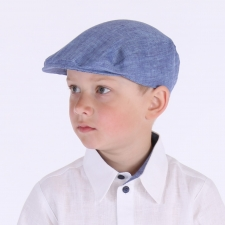 Blue Ivy Cap, 100% Linen