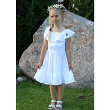 Valge kleit volangidega