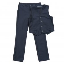 Vest And Trousers, 96% Virgin Wool