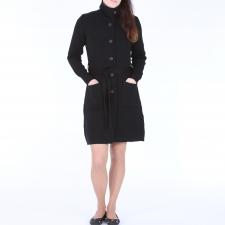 Black Cardigan, 100% Merino Wool