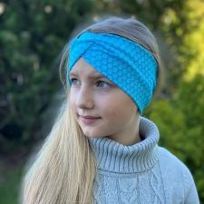 Turquoise Floral Headband