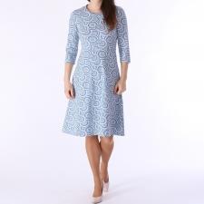 Sinine kleit ringidega