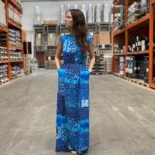 Blue MaxiDress
