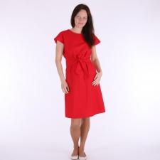 Punane linane kleit