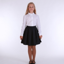 Black Skirt, 100% Virgin Wool