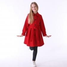 Punane mantel kašmiiriga