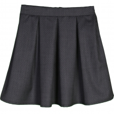 Virgin Wool Black Skirt