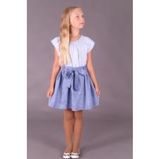 Blue Skirt, 100% LINEN