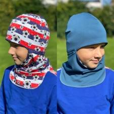 Balaclava Football / Blue +5 to +15 °C